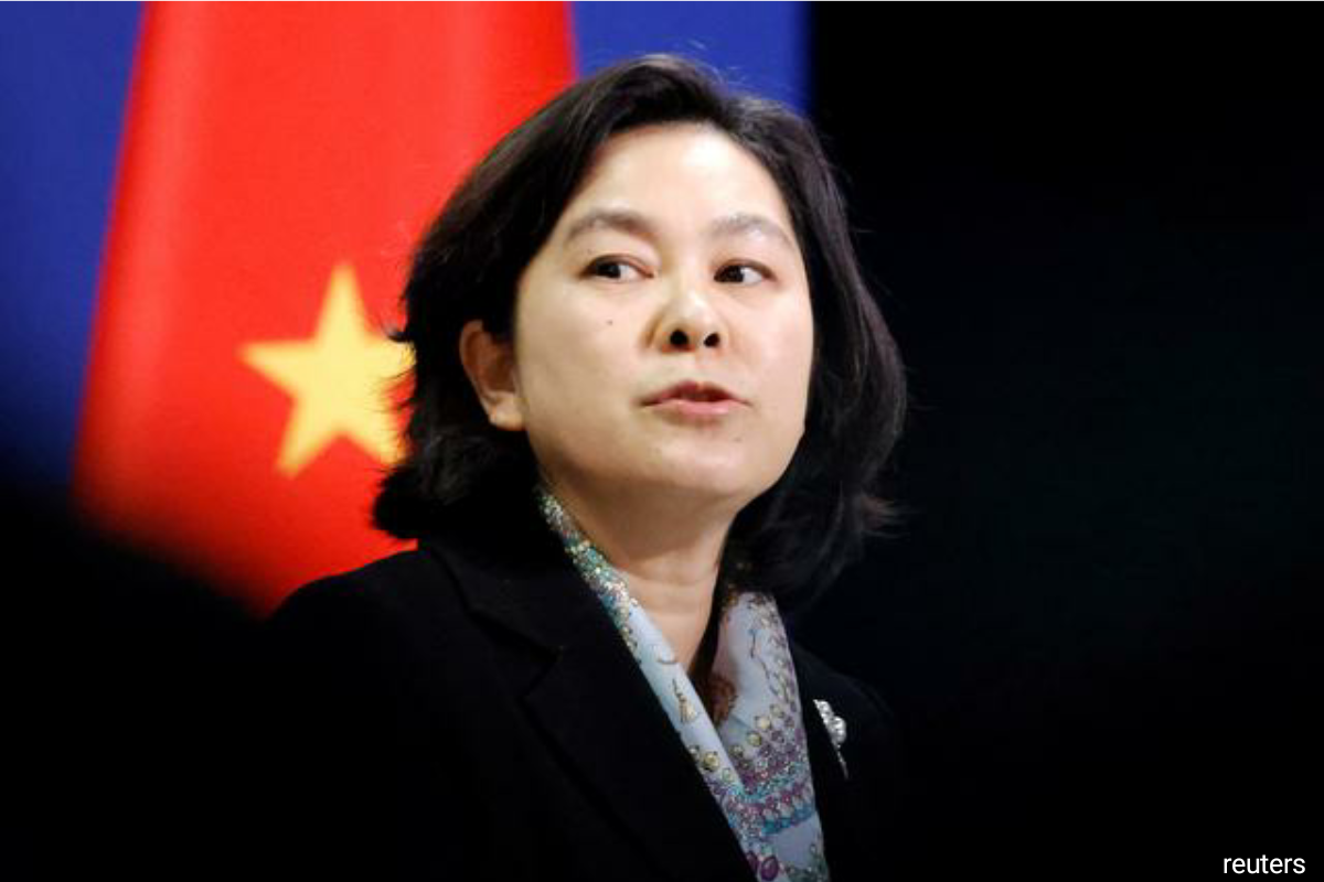 Hua Chunying, spokesperson of the Chinese Foreign Ministry
