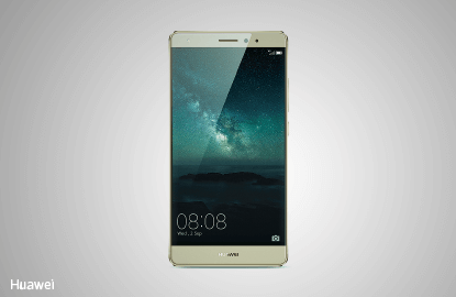 Huawei Mate S, crafted to fit the curvature of our palms