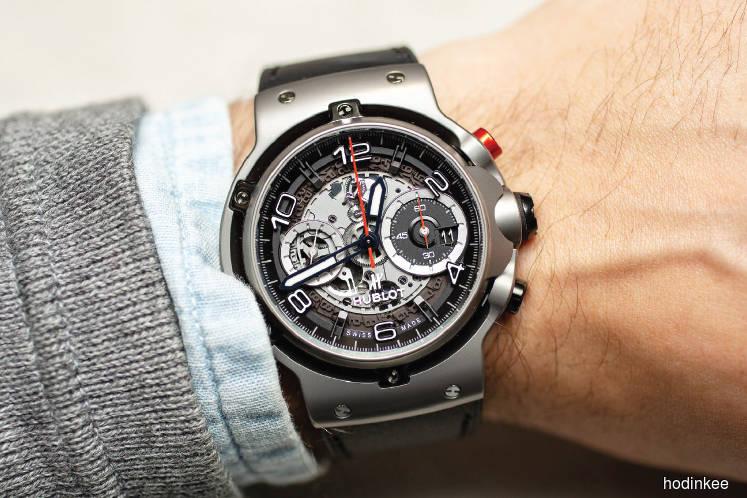 Watches: Ferrari Monza designers help Hublot embrace its curves