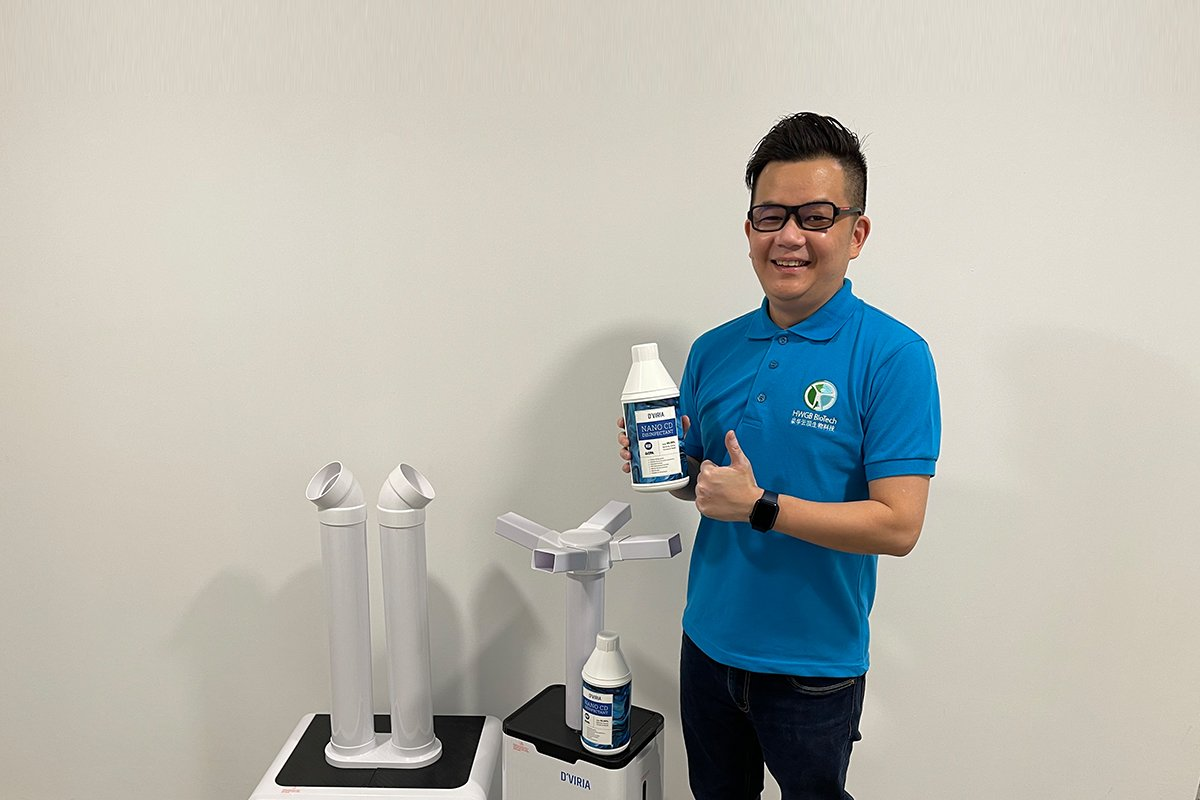 DVIRIA LAUNCHES FIRST MOH-APPROVED CHLORINE DIOXIDE SURFACE DISINFECTANT IN MALAYSIA