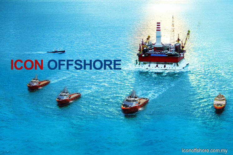 Icon Offshore active, falls 20% as trading resumes