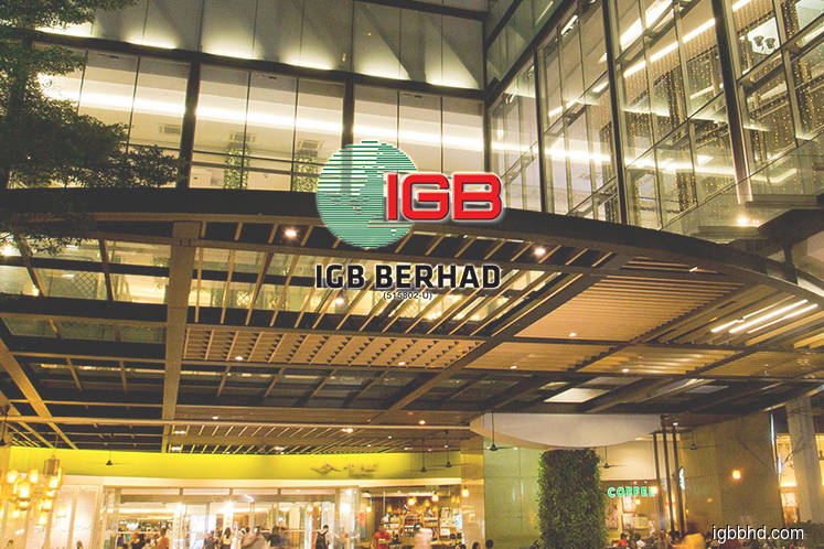 IGB unit inks preliminary agreement to sell stake in UK JV firm for RM1.27b