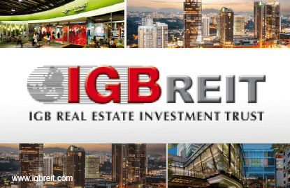 IGB REIT 3Q net property income up 4.9%, declares higher DPU of 2.25 sen