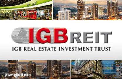 IGB REIT's 1Q net property income up 4%, DPU at 2.36 sen