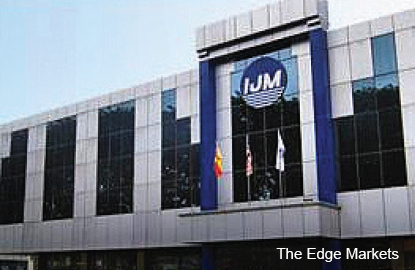 IJM's 3Q net profit jumps 85.8% on higher contribution from various divisions