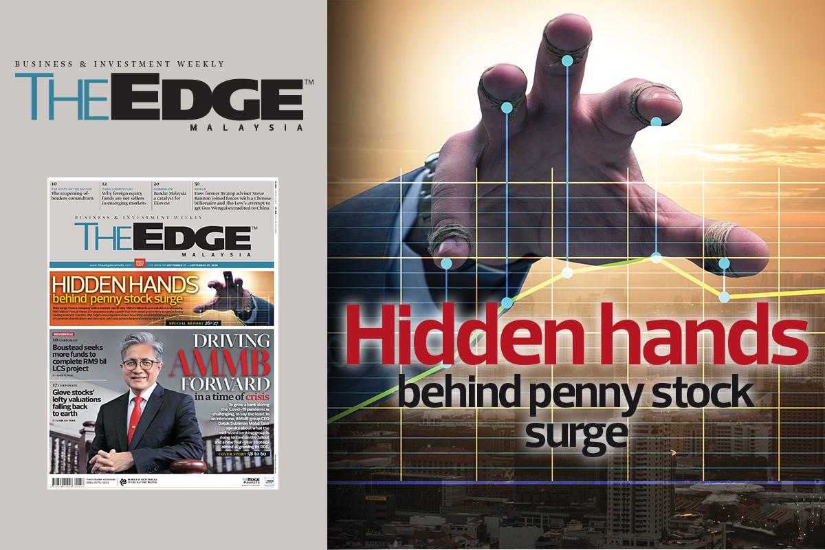 Hidden hands behind penny stock surge