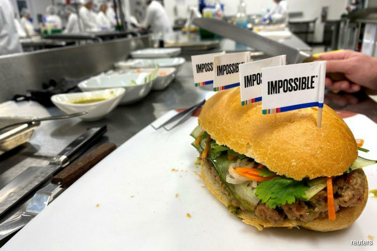 Its Asian launch comes as the maker of plant-based meat said it was still awaiting approval from Chinese regulators. Its key ingredient, heme, made from genetically modified yeast, requires approval in China. (Photo by Reuters)