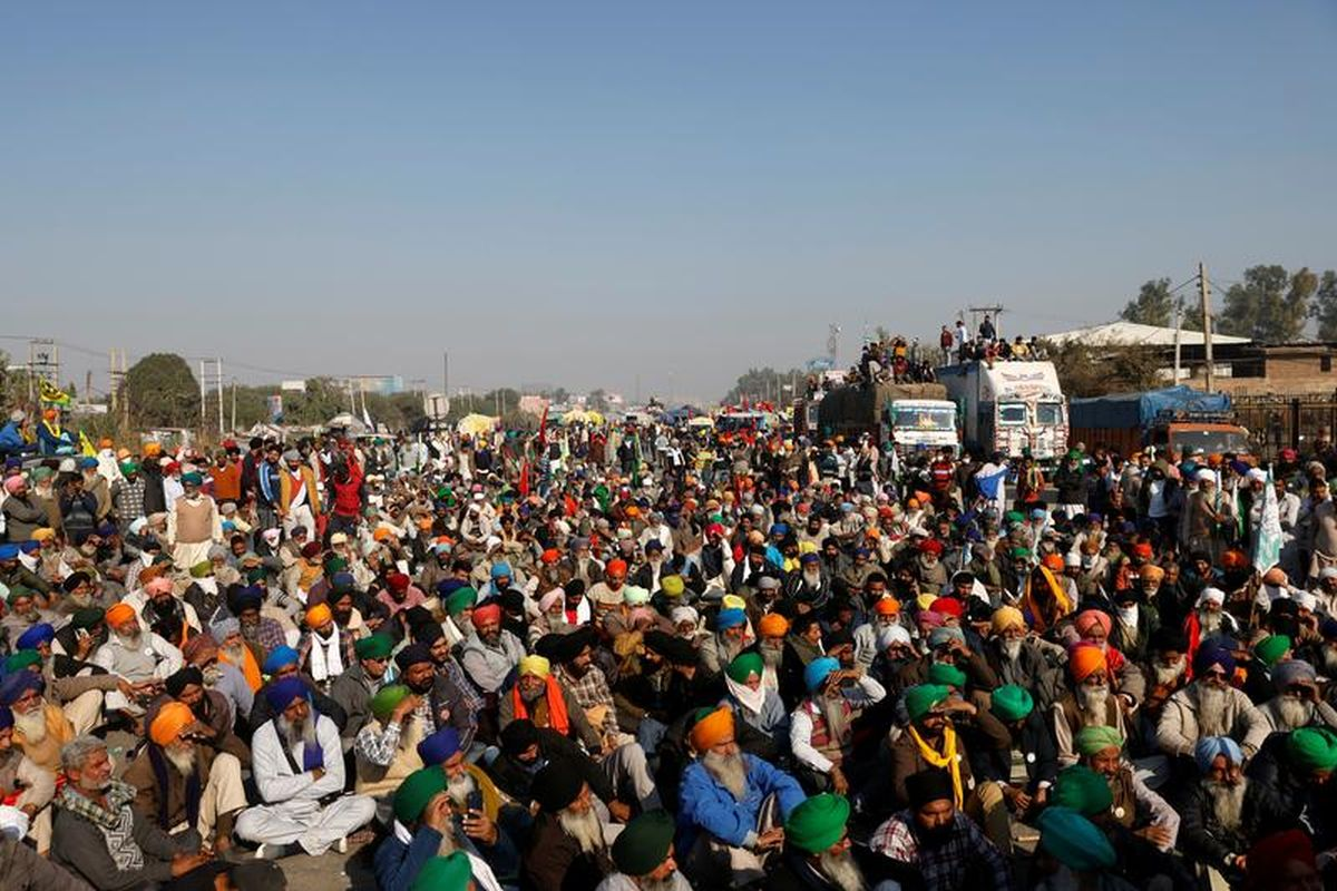 Indian farmers call off march to Parliament on Budget Day following deadly violence