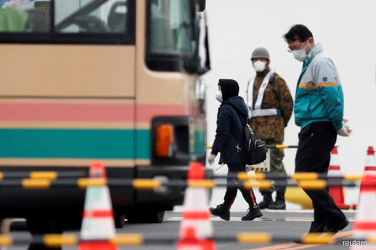 Indonesia to evacuate 74 people from coronavirus-affected ship off Japan