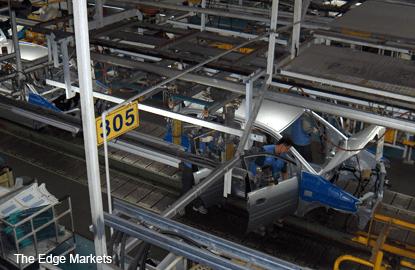 Malaysia February industrial output seen rising 7.3% y/y