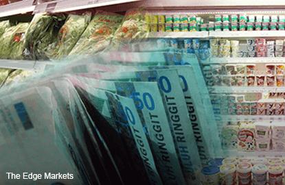 大马去年12月通胀率按年增2.7%