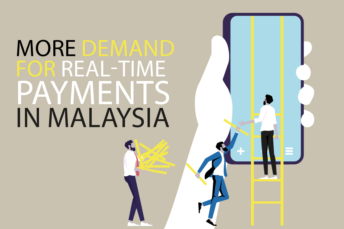 More demand for real-time payments in Malaysia