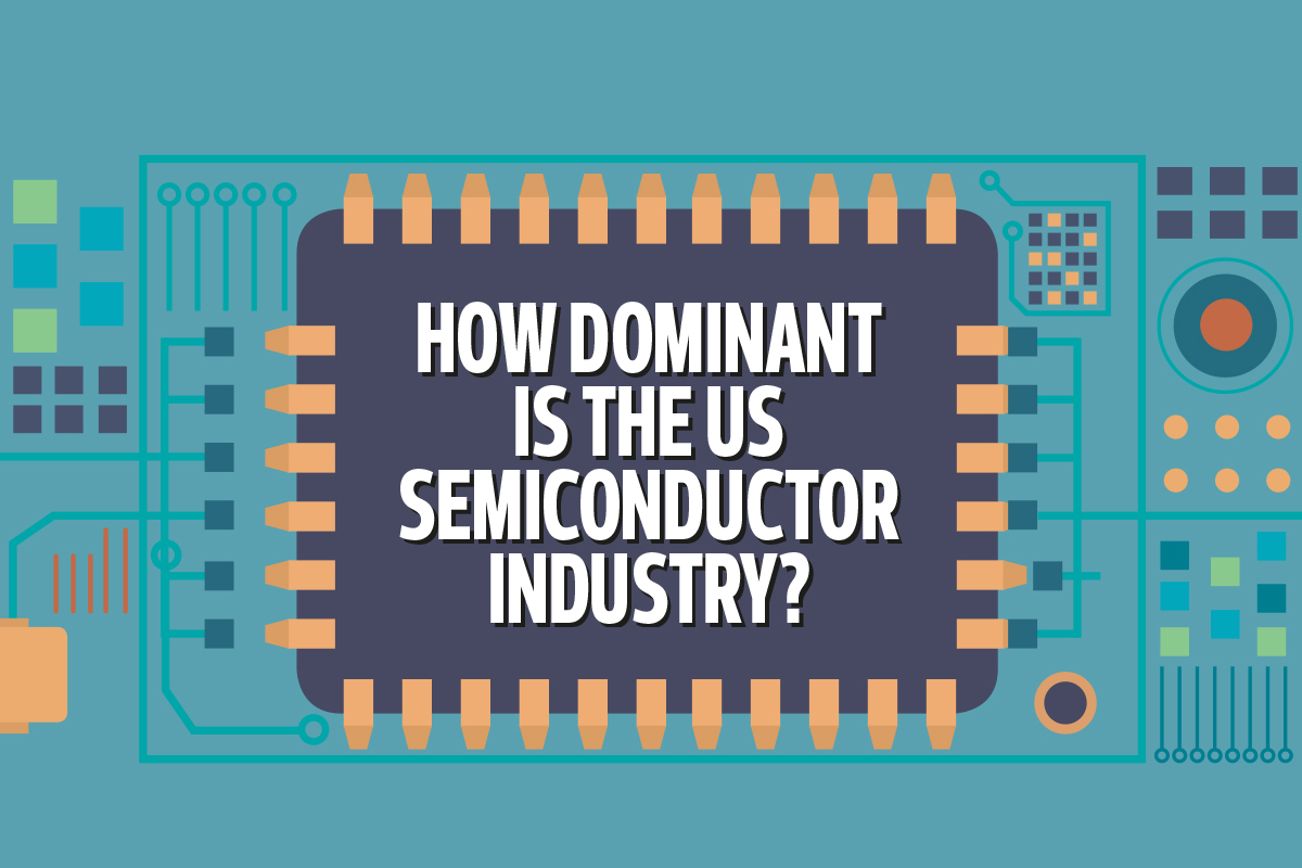How dominant is the US semiconductor industry?