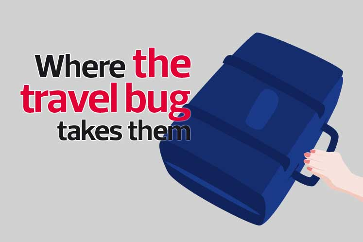 Where the travel bug takes them