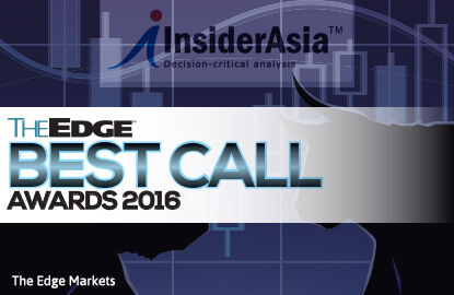 The Edge Best Call Awards 2016: InsiderAsia stocks that performed in 2016