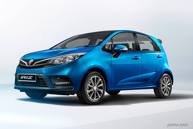 Proton unveils its first facelifted car, Iriz, post-Geely entry