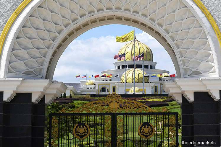 MPs arrive at Istana Negara for personal interview with Agong