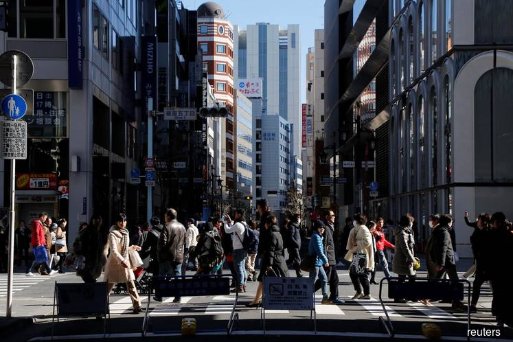 Japan's 4Q GDP expected to post largest decline since 2014