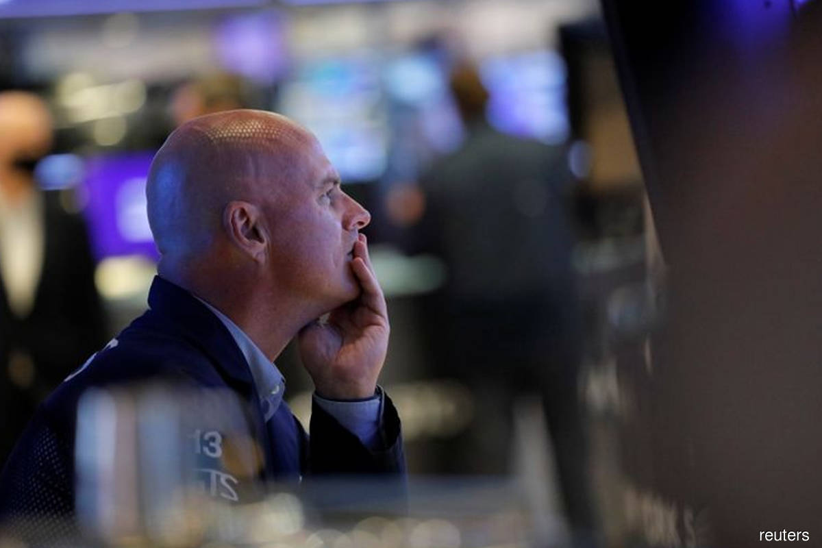 Wall Street ends down after jobless claims hit 18-month low