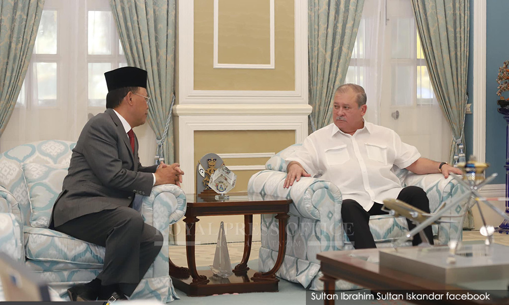 Sultan of Johor to appoint new Menteri Besar tomorrow