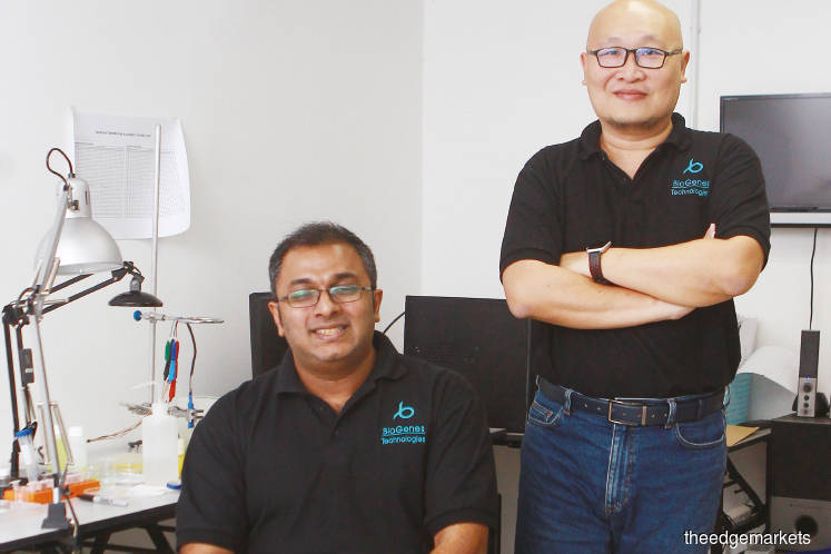 From left: Founders Joseph and Tang