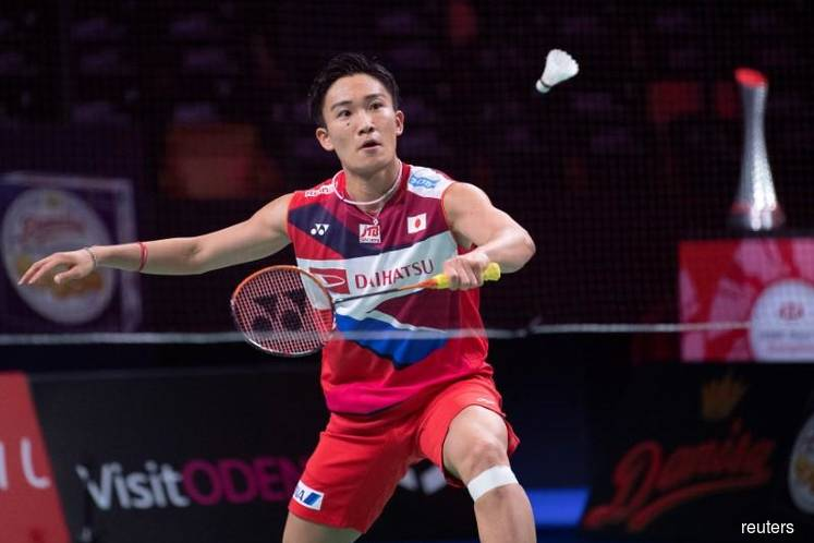 Badminton world No.1 Momota injured in crash in Malaysia, driver killed