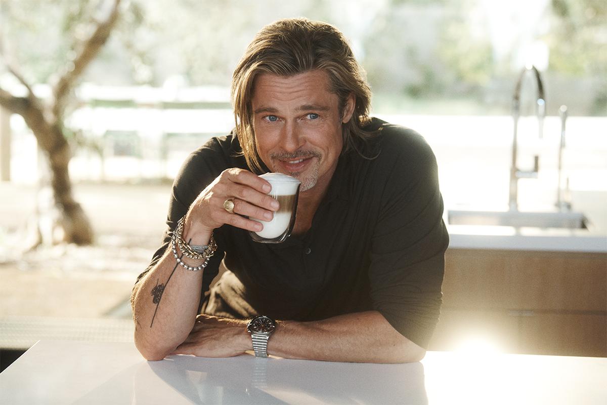 De'Longhi showcases Brad Pitt's love for coffee in the new Perfetto campaign