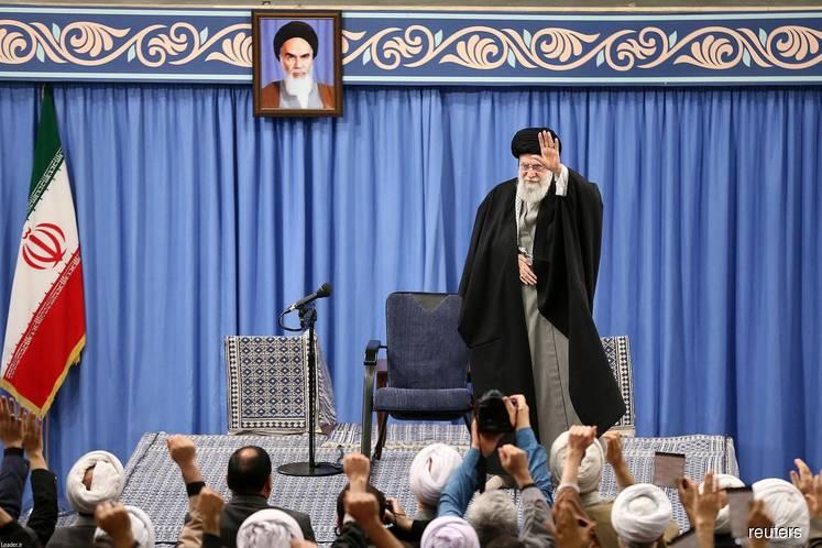 Khamenei says Iran's strikes at US targets show 'hand of God'