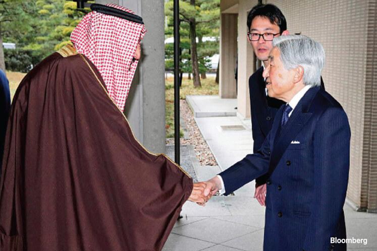 Saudis thinking beyond oil in Asia courtship