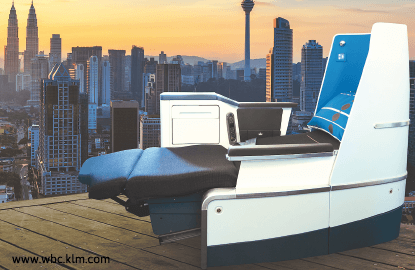 Travel: Sustainable comfort with KLM's World Business Class