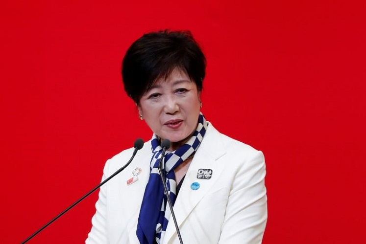 "Tokyo Governor Yuriko Koike has said the capital would swiftly move into ""stage one"" of the lifting of curbs if the government ends the state of emergency. (Photo by Reuters)"