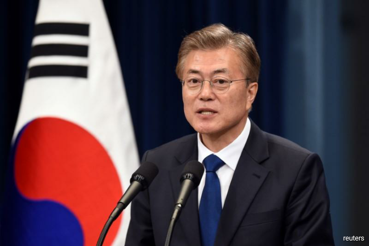South Korea's Moon vows to work with China to end war, build peace on Korean peninsula — Blue House