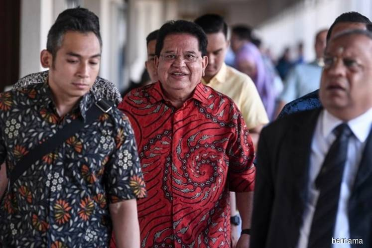 Ku Nan maintains not guilty plea to accepting RM2m bribe