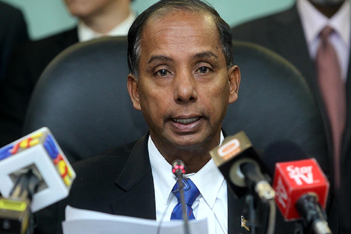 Former human resources minister M Kulasegaran