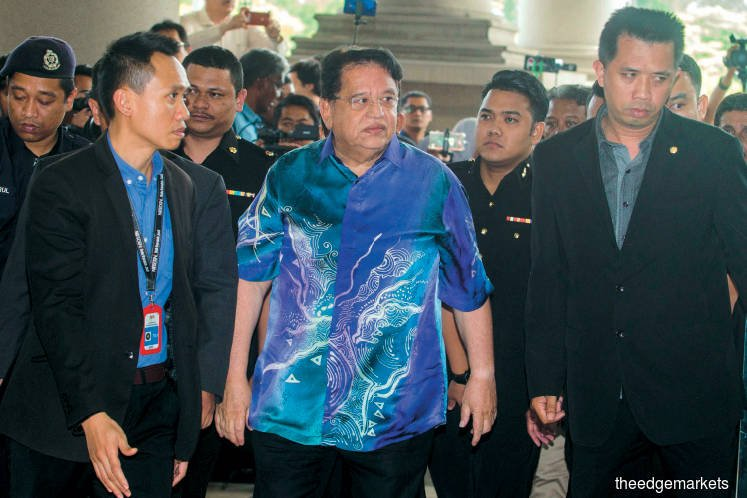 Ku Nan pleads not guilty to receiving RM3m bribes