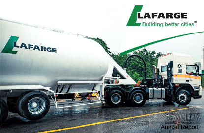 LaFarge's bland earnings influenced by lower sales from all segments