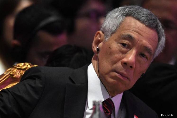 Singapore Prime Minister Lee Hsien Loong (Photo by Reuters)