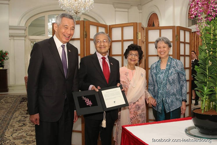 Singapore PM Lee wishes 'very happy 94th birthday' to Dr M
