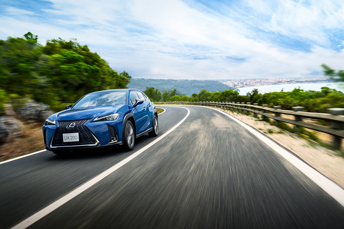 Three easy steps to drive home the new Lexus UX