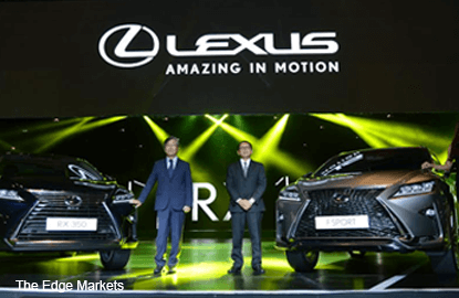 Lexus aims to sell 700 best-selling luxury crossovers in 2016