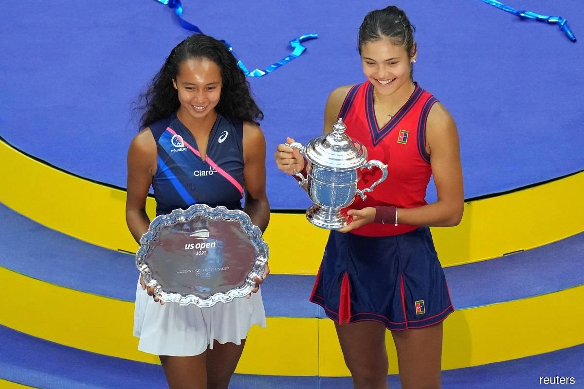 Raducanu, Fernandez mark depth of women's game, signal enticing future