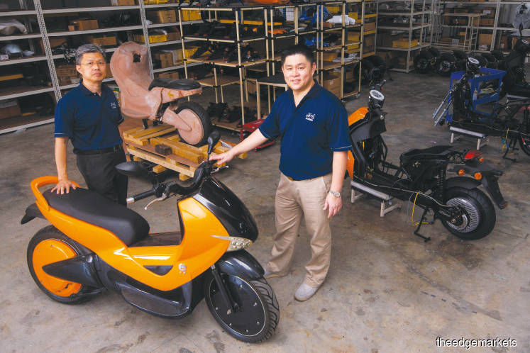 Combating pollution one motorbike at a time