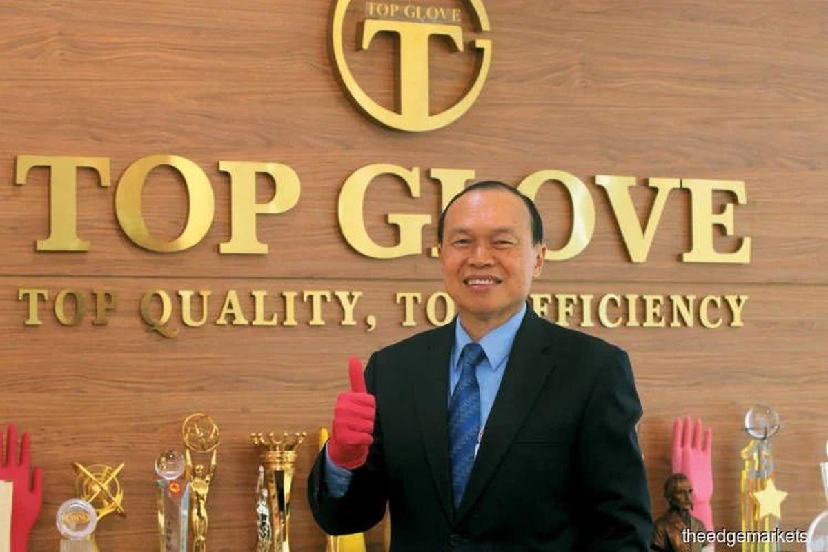 Top Glove boss intends to deal shares during closed period prior to 2Q result