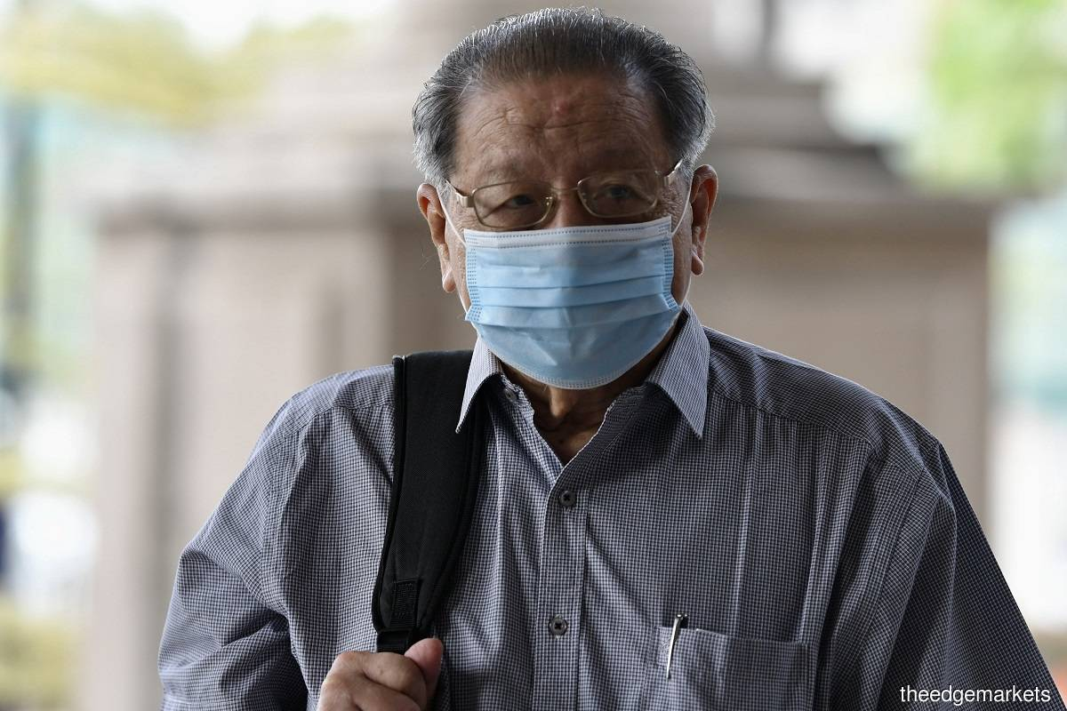 Lim Kit Siang (Photo by Sam Fong/The Edge)