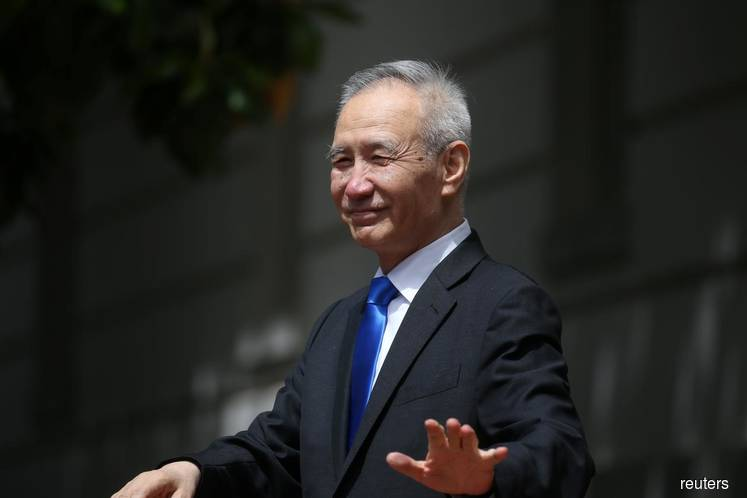 China's Vice Premier Liu to sign US trade deal in Washington next week