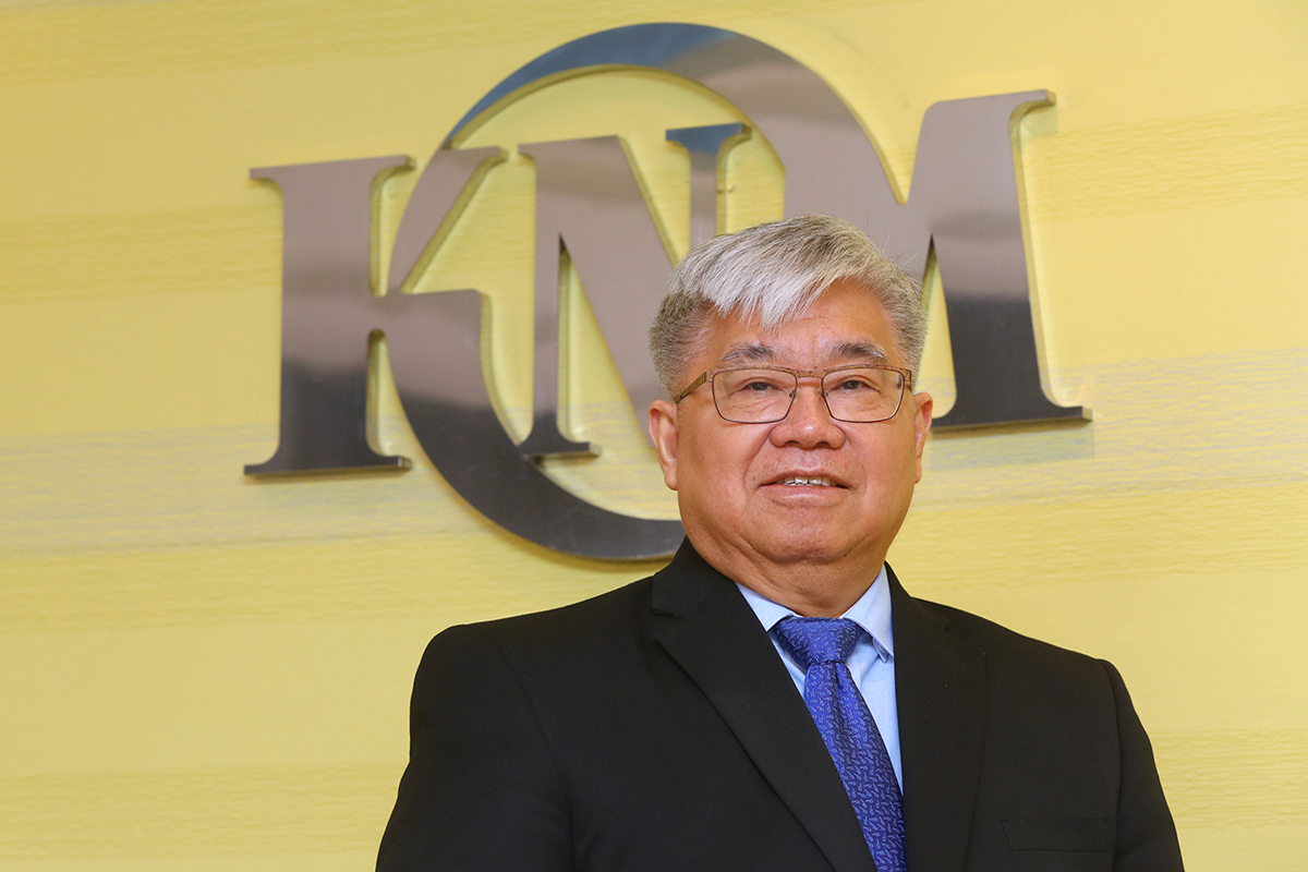 Founder of KNM Group, Lee Swee Eng (The Edge Photo)