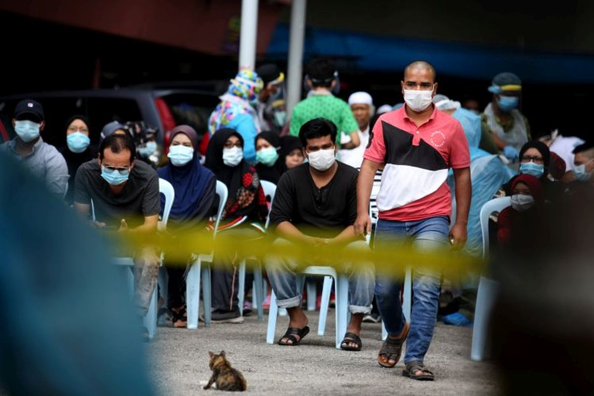 Covid-19: Malaysia hits new record high with 2,234 cases, with 1,428 from Selangor
