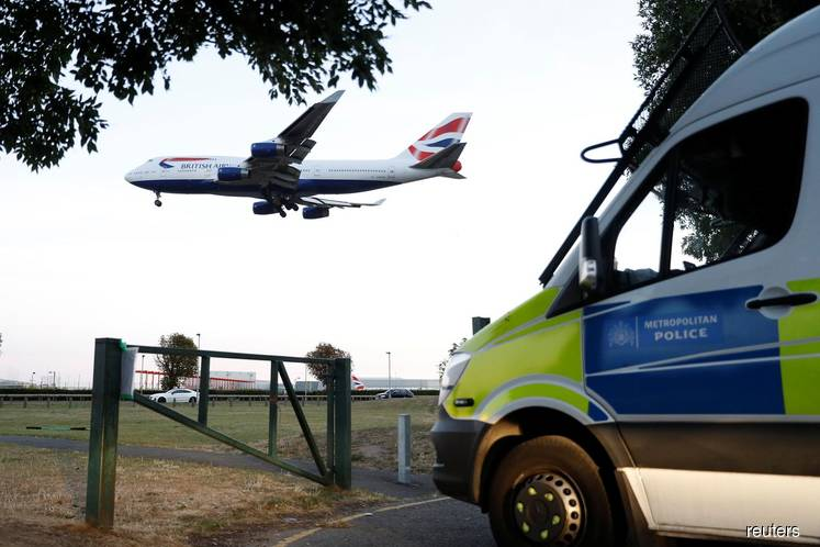 London's Heathrow airport says no disruption from activists' drones