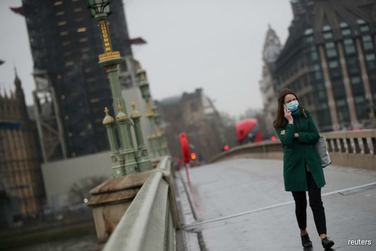 The coronavirus epidemic in the United Kingdom is showing signs of slowing and antibody tests could be ready in days, Neil Ferguson, a professor of mathematical biology at Imperial College London, said on Monday. (Photo by Reuters)