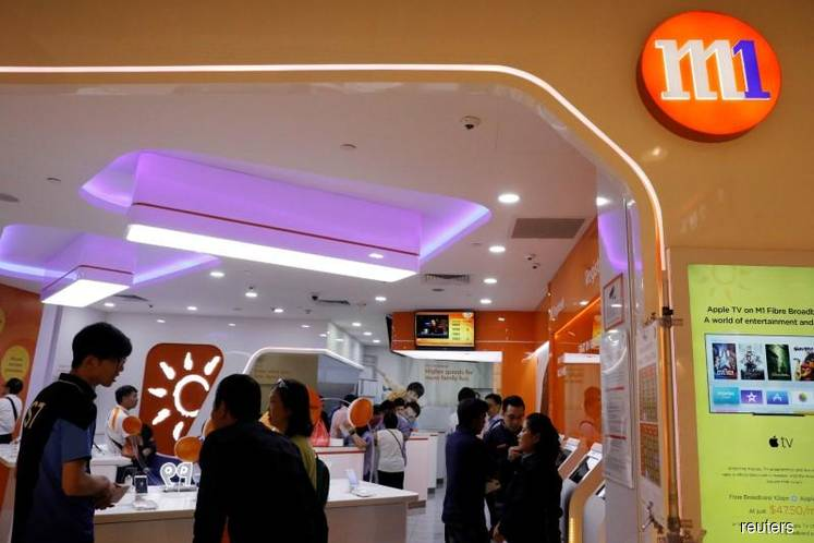 M1 posts 2.5% drop in 4Q earnings to S$31m on lower handset sales